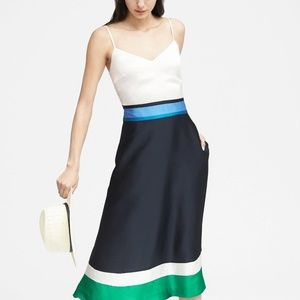 Banana Republic colourblock dress - size 4, NWT!